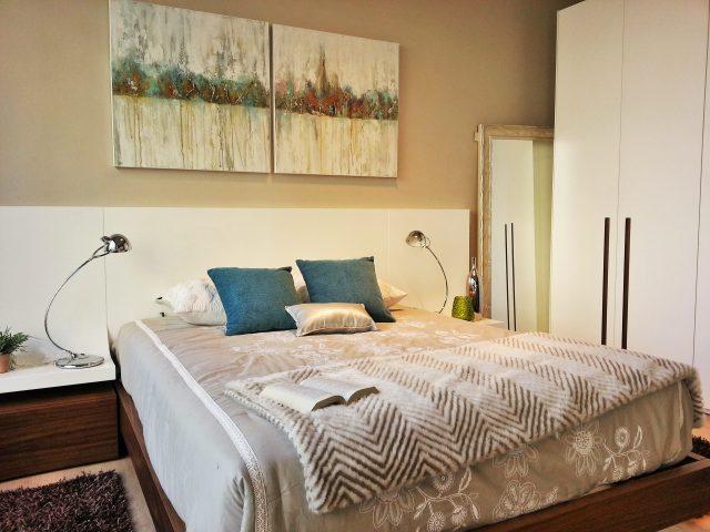 Dormitorio doble moderno