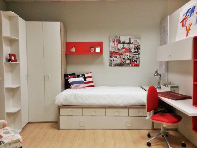 Alegre dormitorio juvenil