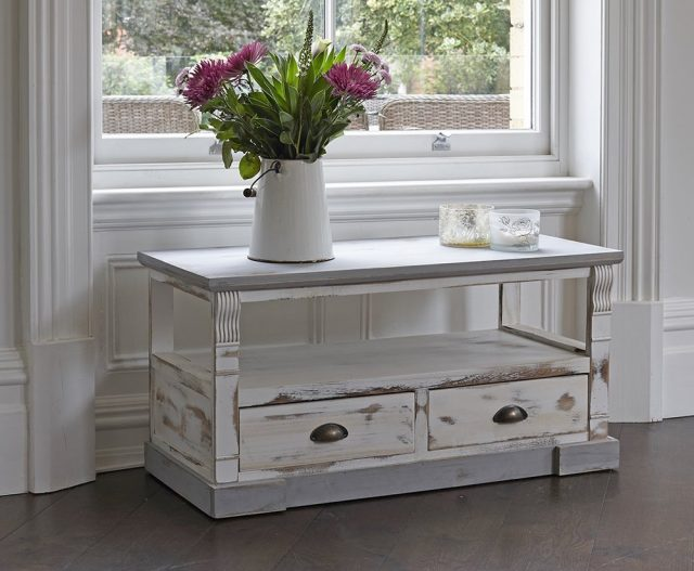 Como restaurar muebles con chalk paint